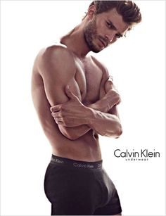 Is that a banana in your CK briefs, or are you just Christian Grey?