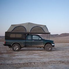 The FlipPac camper is one of the coolest camping set ups we have ever tried! Adventure Trailers is now building their own version of this that is way better. The reason we got rid of our was because it was just to wide on the 1st Gen Tacoma. #flippac #camping #tent #rtt #desert #tacoma #adventure #toyota #offroad #adventure http://ift.tt/293RKIt