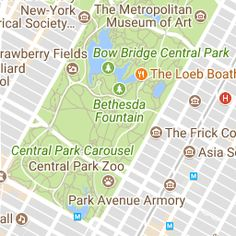 Explore our interactive map of Central Park or download the Official Map.