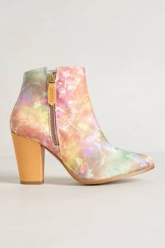 Galaxy Inlay Booties - anthropologie.com Bootie Boots, Shoe Boots, Wide Feet, Summer Shoes, What To Wear, Anthropologie, Booty, Detail, My Style