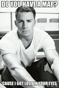 Sometimes a simple white tee & jeans is all a man needs ;) OR Channing Tatum. Maybe we all just need some Channing Tatum. Cody Christian, Christian Pick Up Lines, Coach Carter, Don Jon, Sup Girl, Matthew Fox, Robert Downey Jr., Photo Star, Actrices Hollywood