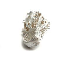 Nora Rochel White Ring