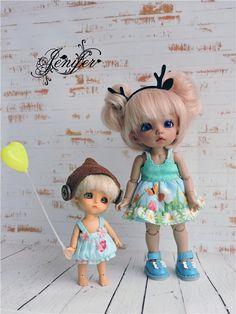 Платья для малявок (Pukifee and Lati White) Доставка в цене!!! / Все для BJD / Шопик. Продать купить куклу / Бэйбики. Куклы фото. Одежда для кукол