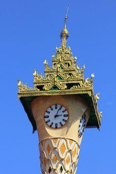Big Clocks, Unusual Clocks, Outdoor Clock, World Clock, Clock Shop, Clock Art, As Time Goes By, Time Clock, Yangon