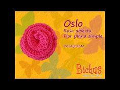 YouTube Oslo, Lana, Crochet Necklace, Crochet Hats, Nursing, Flowers, Friends, Simple Flowers, Crochet Flowers