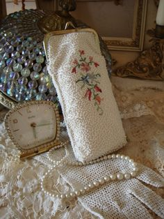 French Seed Bead Purse