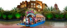 Mexican Floating Fiesta, Cancun - Xoximilco!