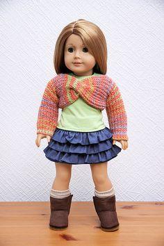 18'' Puppe Kleidung American Girl Puppe Pullover 2 von StassyDodge