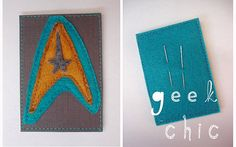 Make a craft to hold things you use to make things, Star Trek style! Meta.