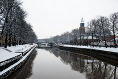 Turku in winter time
