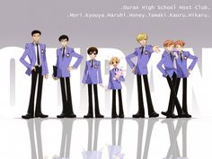 Ouran High School Host Club is an awesome show! Colégio Ouran Host Club, Manga Box Sets, Ouran Highschool, Stuck In The Middle, High School Host Club, Funny Scenes, Cosplay, Anime Couples, Anime Manga