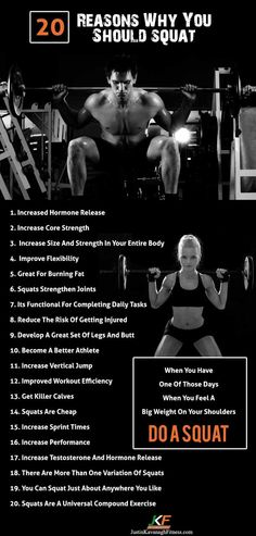 reasons why you should squat