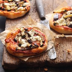 Vegetarische mini Pizza