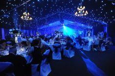 Starry, starry night wedding. Breathtaking!