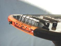 Denyle Guitars - 5 string bass - Interesting bridge system