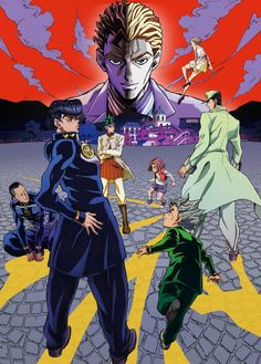 Cuarta imagen promocional del Anime JoJo's Bizarre Adventure: Diamond is Unbreakable.