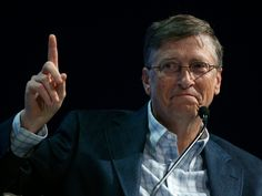 The richest person in every state mapped - Business Insider Bill Gates, The Next Big Thing, Business, Technology, Household Income, Internet, Atoms, Mosquitoes, Industrial Revolution
