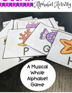 Letters For Kids, Letter Of The Week, Letter Recognition, Alphabet Activities, Super Mom, Playing Cards, Ocean, God, Lettering