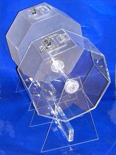 Tômbolas Hexagonais em Acrílico para Sorteios  Visite a nossa LOJA ONLINE www.acrilico.pt