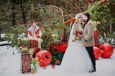 Russian Party, Russian Wedding, Winter Christmas, Christmas Wedding, Russian Folk, Russian Style, Vintage Inspired Fashion, Christmas Settings, Wedding Pinterest