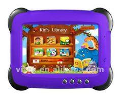 7'' Android 4.0 Kids Tablet, View Kids Tablet, OEM Product Details from Shenzhen Vitek Electronics Co., Ltd. on Alibaba.com #BestAndroidTabletForKids Best Android Tablet, Android 4, Oem Product, Kids Tablet, Kids Library, Notebook Laptop, Shenzhen, Arcade Games, Ipad Mini