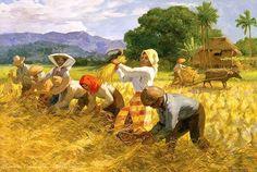 Fernando Amorsolo The Harvesters