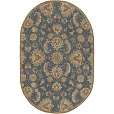 World Menagerie Topaz Hand-Tufted Area Rug Rug Size: Runner 3' x 12'