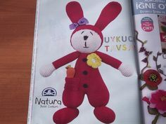 Uykucu tavşan nasıl yapılır (Amigurumi)