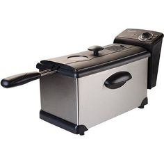 Continental Electric 3Liter Stainless Steel Deep Fryer * Check this awesome product by going to the link at the image.  This link participates in Amazon Service LLC Associates Program, a program designed to let participant earn advertising fees by advertising and linking to Amazon.com.
