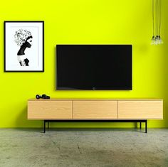 Brightening your Monday with this modern space featuring the Monterey Entertainment Unit.
