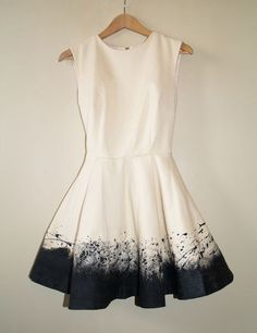 DIY Pollock-esque dress