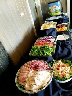 Girls night in menu ideas everyone will love pinterest bridal image result for build your own sandwich platter forumfinder Choice Image