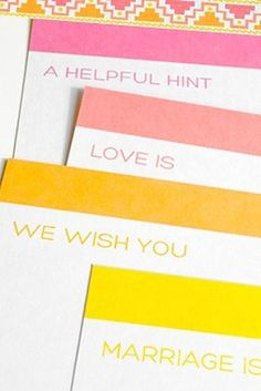 Guestbook Advice Cards | 31 Free Wedding Printables Every Bride-To-Be Should Know About