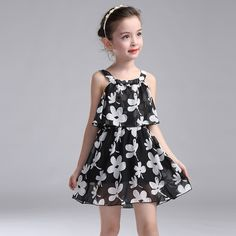 Kids Dresses For Girls Children Clothing 2017 New Year Chiffon Party Dress Girls Floral Summer Sundress 2 3 4 6 8 10 11 12 Years We offers a wide selection of trendy style women's clothing. Affordable prices on new tops, dresses, outerwear and more. Princess Flower Girl Dresses, Wedding Flower Girl Dresses, Little Girl Dresses, Girls Dresses, Beach Dresses, Flower Girls, Fashion Kids, Little Girl Fashion, Latest Fashion Clothes