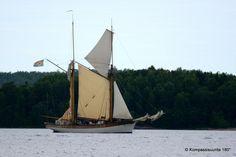 Sailing ship in Åland, Finland