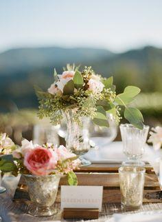 wedding centerpiece idea; photo: Sylvie Gil