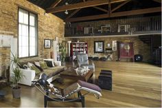 loft apartment in Islington #loft #warehouse
