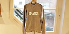 Amator Sweater. By: Hutspot http://lokalinc.nl/