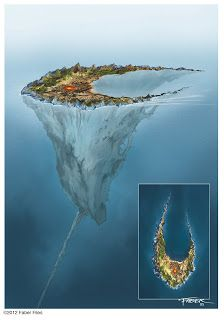 Faber Files: The design of Voya Nui That cord leeds to the sunken city of mahri nui