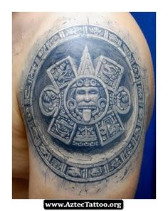 Aztec Tattoos Designs Meanings 02 - http://aztectattoo.org/aztec-tattoos-designs-meanings-02/