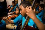 Music and the Developing Brain by dailygood: While just listening to a Mozart sonata (the debunked Mozart effect) may not make you smarter, learning to play a musical instrument before the age of seven just might. Listen to the story. Also: http://share.upmc.com/2014/12/music-affects-developing-brain/ #Kids #Brain_Health #Playing_a_Musical_Instrument  #Neuroscience #Learning