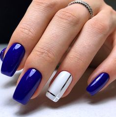 65 Cute Short Acrylic Square Nails Ideas For Summer Nails purple Acrylic short square - Nails Nagellack Design, Nagellack Trends, Square Nail Designs, Short Nail Designs, Cute Acrylic Nails, Acrylic Nail Designs, Stylish Nails, Trendy Nails, French Manicure Short Nails