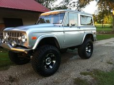 Ford Bronco I don't like fords but anything 79and earlier are ok