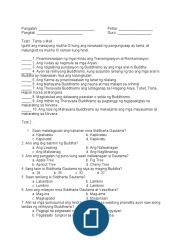 Sample Long Test of Second Year - Araling Panlipunan - grading Free Reading, Audiobooks, Books To Read, Sheet Music, Ebooks, Digital, Men's Fashion, Moda Masculina, Mens Fashion