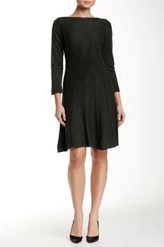Max Studio | Flared Sweater Dress | Nordstrom Rack