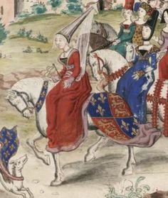 Isabella of France Queen of England,c. 1350