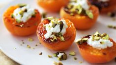 Broiled Apricots with Fresh Ricotta and Pistachios Videos | Food and Cooking How to's and ideas | Martha Stewart
