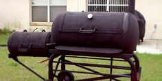 With these homemade BBQ smoker plans friends as well as menage unit of measurement volition marvel at your mightiness to range non bad ta. Build A Smoker, Diy Smoker, Homemade Smoker, Homemade Bbq, Barbecue Grill, Grilling, Backyard Smokers, Custom Bbq Smokers, Bbq Wood