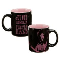 """""""Jimi Hendrix™ """"""""Purple Haze"""""""" 12 oz. Ceramic Mug"""" - $9.99"""