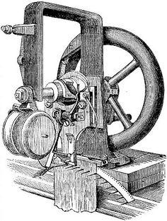 1830' da Barthelemy Thimonnier ilk Dikiş Makinesini icat etti.Buluşlarınızı ancak patent korur. #marka #tescil #patent #tamnotpatent